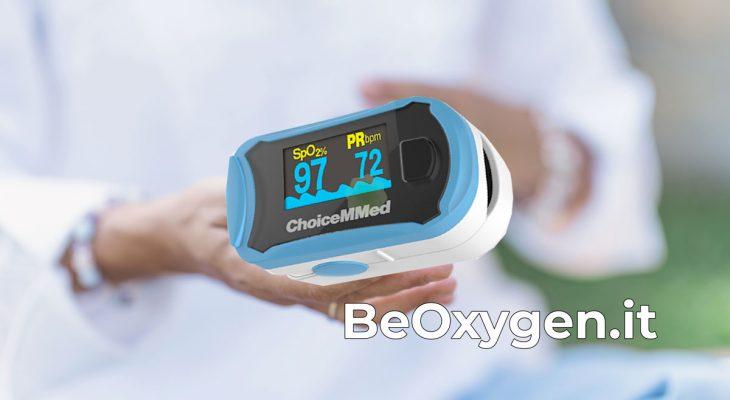 saturimetro beoxygen portatile